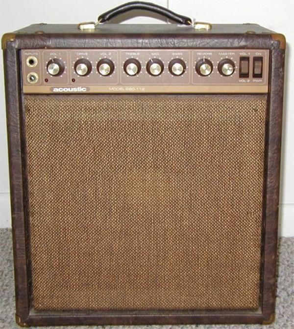 Acoustic Control G60-112 Amplifier
