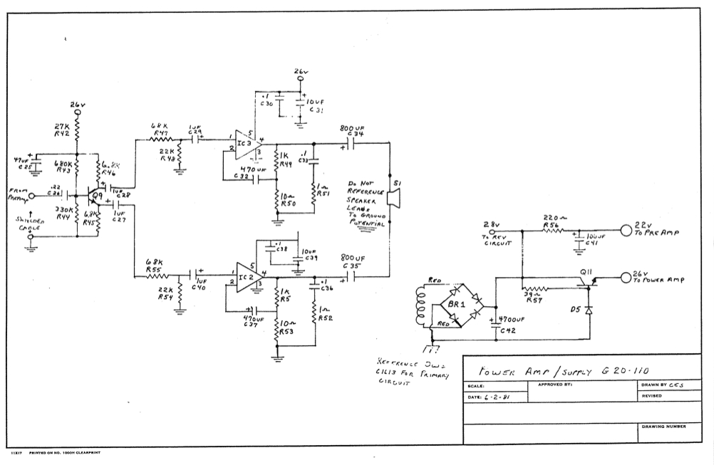 Links to Acoustic (ACC) schematics - Music Electronics ForumMusic Electronics Forum